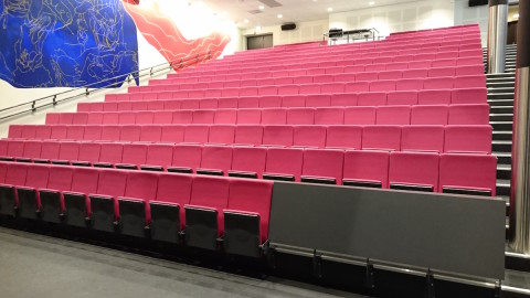 Cantilevered Lecture Theater Chair