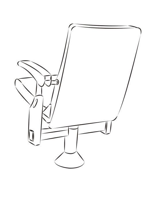 gradins telescopiques club. Black Bedroom Furniture Sets. Home Design Ideas