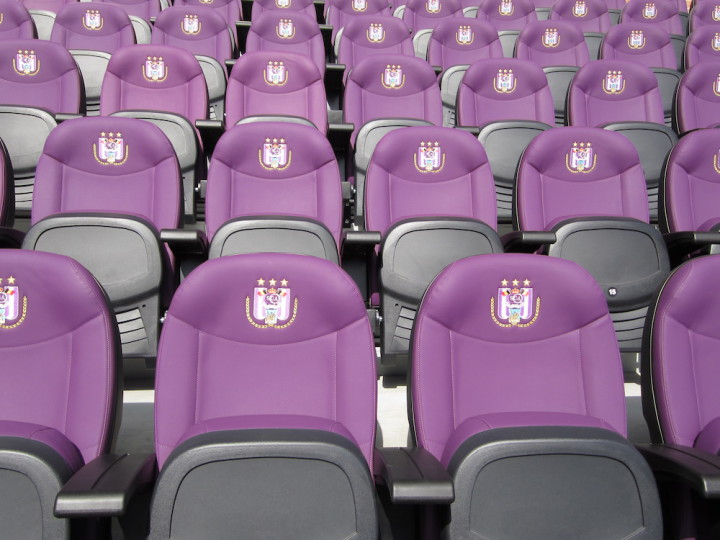 Premium Finish for the best stadium seats