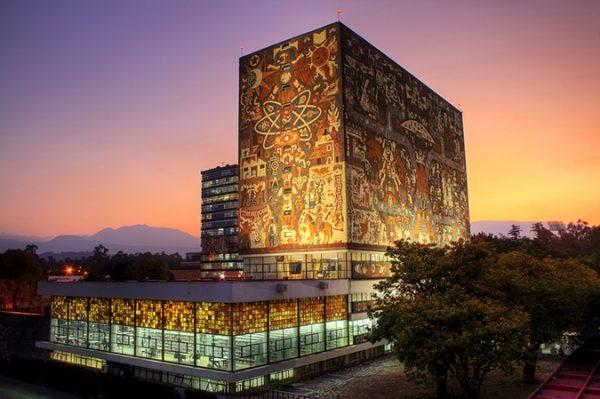 biblioteca central unam mexico