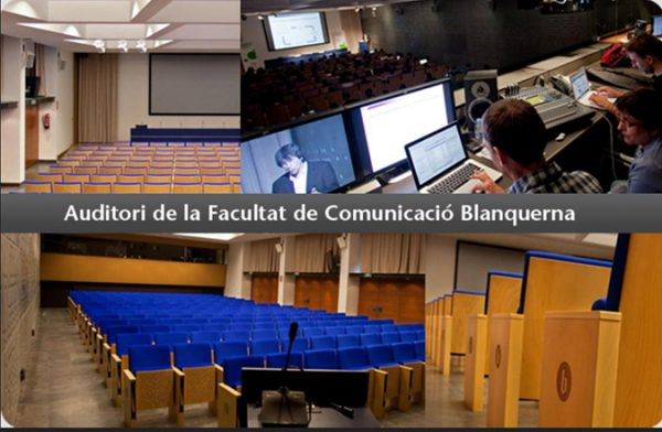 Blanquerna Biblioteca Ascender producer chairs conference