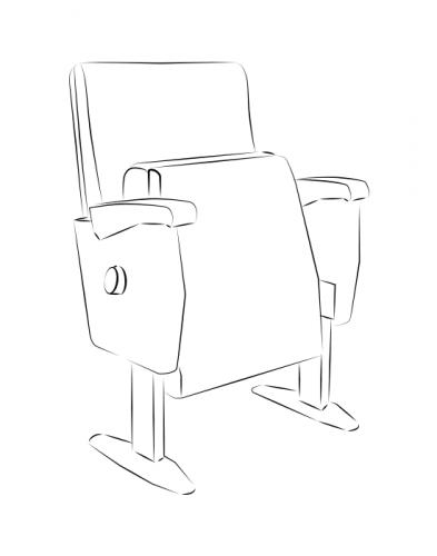 fixed seating angelina