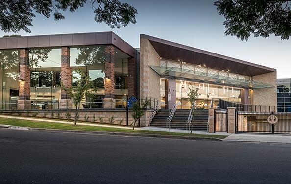 Exterior-AUS Knox Grammar School