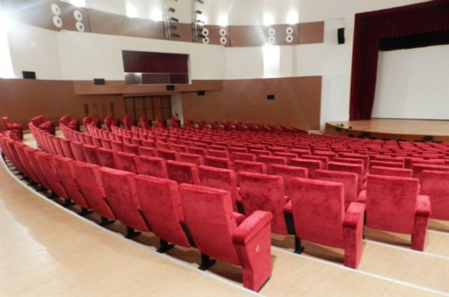 OUR NOVA SEAT AT SALLE DE IBN KHALDOUN,ALGERIA