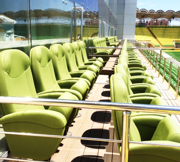 THE OLYMPO VIP SEAT AT THE ANZHI-ARENA (Анжи-Арена), KASPIYSK, RUSSIA