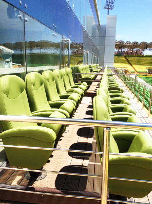 Anzhi Arena OLYMPO VIP seat ascender Russia