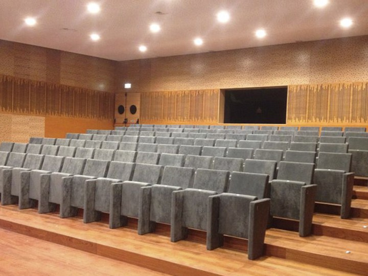 THE OLIVEIRA CHAIR AT THE MILHEIRÓS AUDITORIUM, PORTUGAL