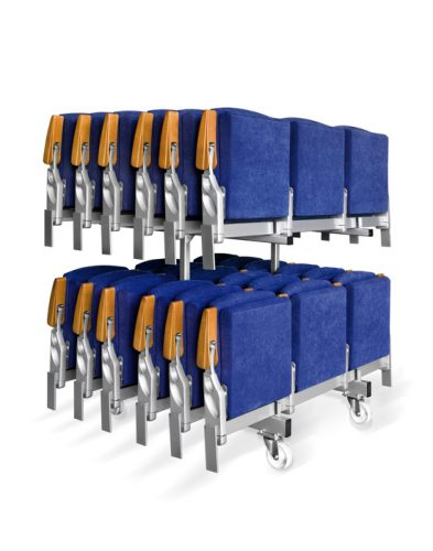 Retractable seating telescopic tribunes Matrix