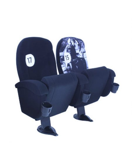 Movie theater chairs upholstered OLYMPO