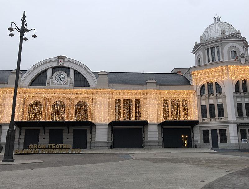 Portada Gran Teatro Caixabank La Estación Príncipe Pío, Madrid