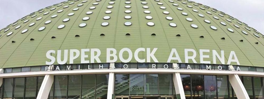PRT Super Bock Arena - Pavilhao Rosa Mota, Portada