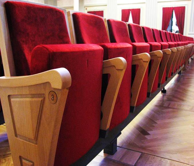 Sillamae Estonia Rail System Ascender producer chairs