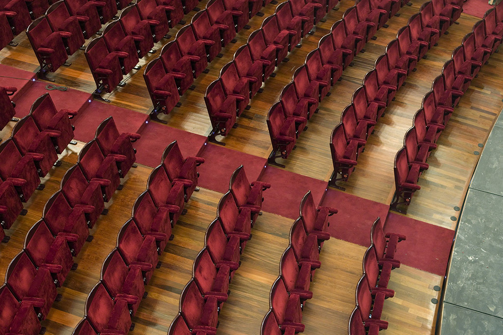 Victoria Eugenia Theatre Seats