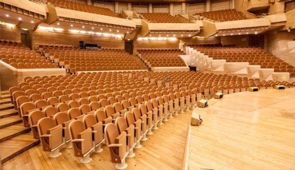 MDMM auditorium moscu ascender PETRA seats